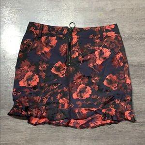 Express Zip down skirt
